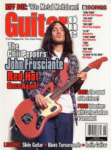 June 1999 Guitar Techniques magazine /& CD